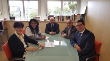 L'ICO rep la visita del senador del Parlament Europeu, Ronan Mullen