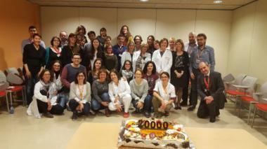 La Unitat de Diagnòstic Molecular del Programa de Càncer Hereditari de l'ICO processa la mostra número 20.000